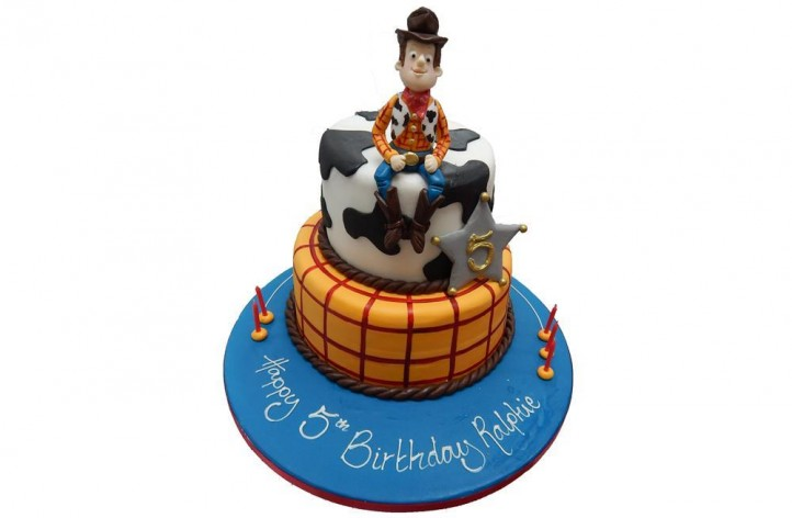 Toy Story Tiered Cake
