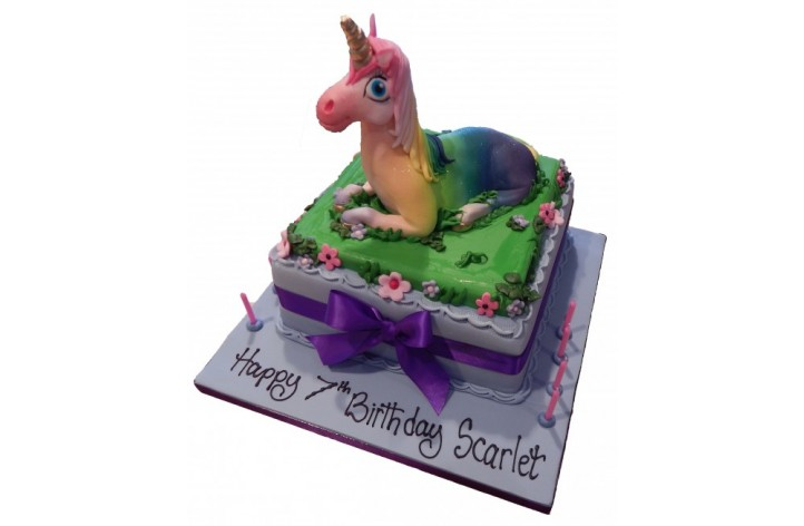 Unicorn Sugar Cake
