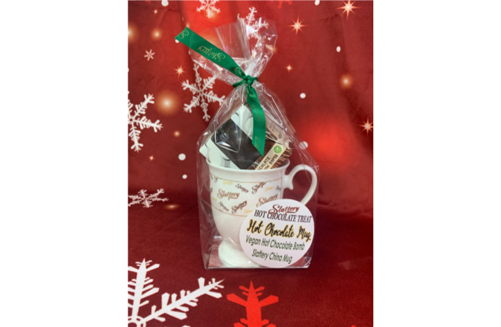 Vegan Hot Chocolate Bomb & Mug Gift Set
