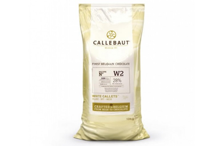Barry Callebaut (W2) White Chocolate Callets 10kg
