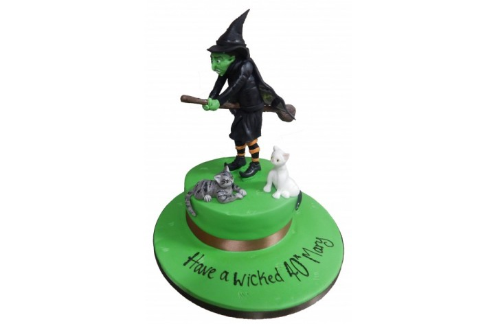 Wicked Witch on a Broom