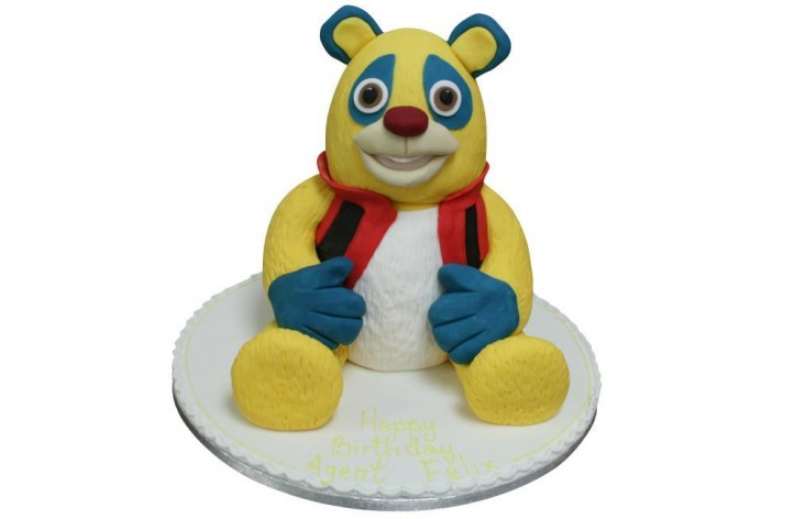 Agent Oso Full Figure
