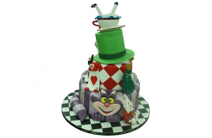 Alice in Wonderland 3 Tier