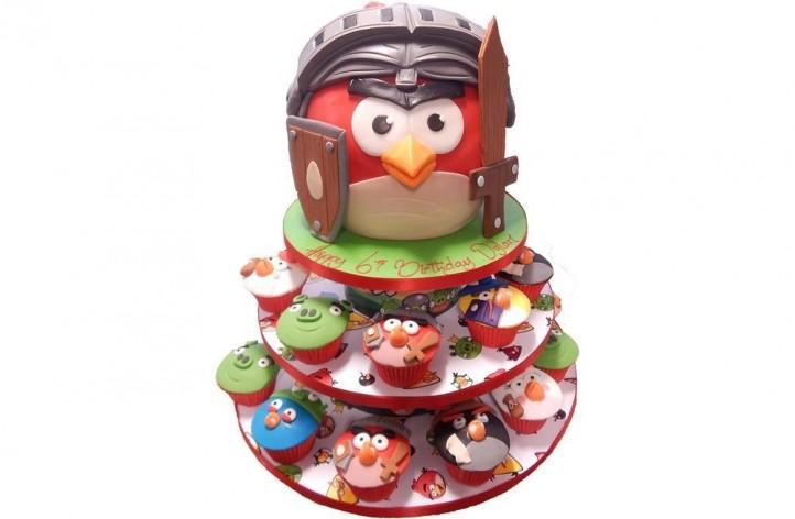 Angry Bird & Cupcakes