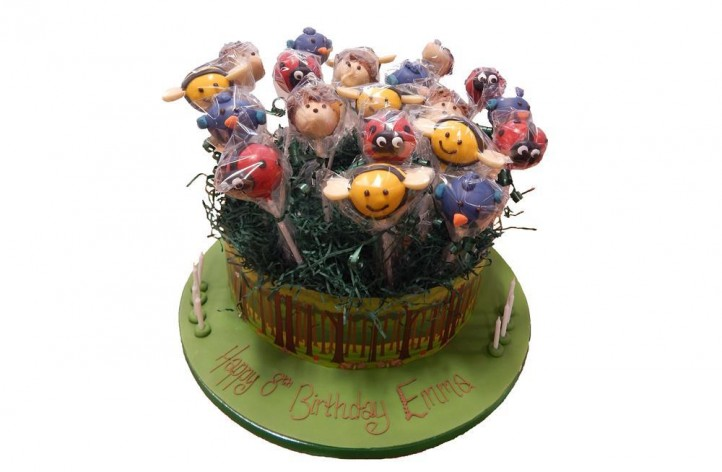 Animals - Cake Pop Stand