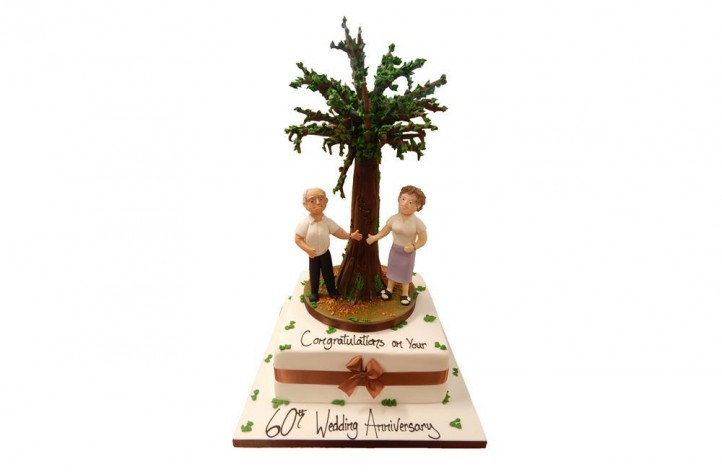 Anniversary Couple with Tree