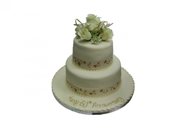 Anniversary / Engagement 2 Tier Cake