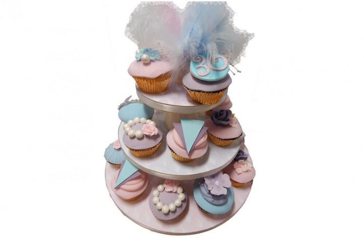 Art Deco Cupcakes