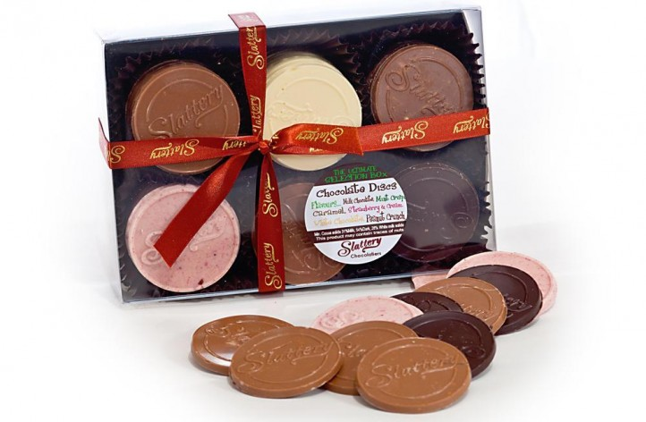 Assorted Chocolate Disc Box