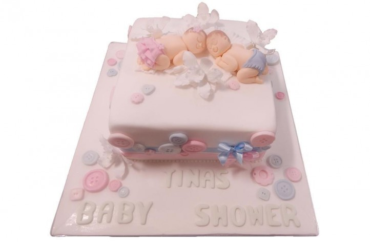 Baby Shower Babies Cake