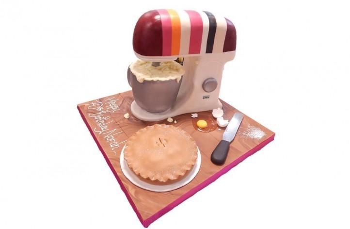 Baking Mixer Cake