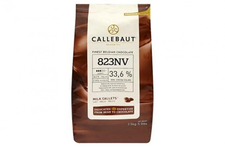 Barry Callebaut (823) Milk Chocolate Callets 2.5kg