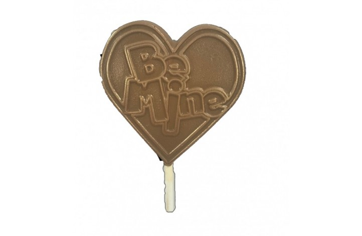 Be Mine Milk Chocolate Lolly