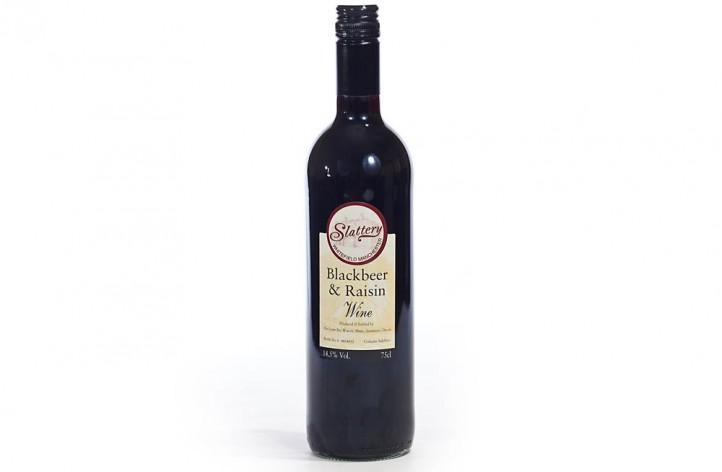 Blackbeer and Raisin Wine