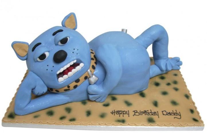 Blue Cat Full Figure