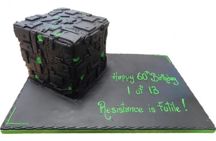 Borg Cube - Star Trek