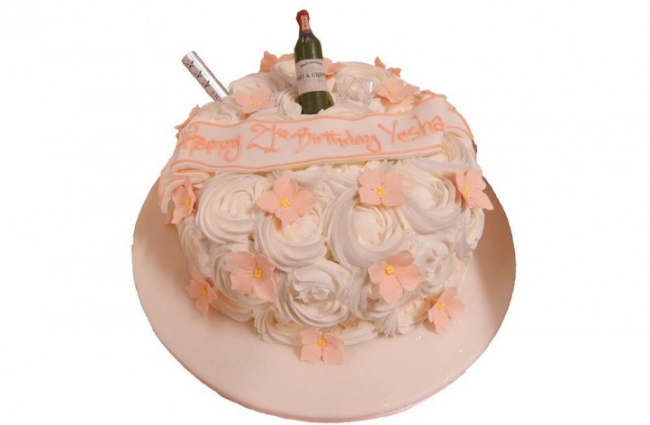 Buttercream Rose Style Cake