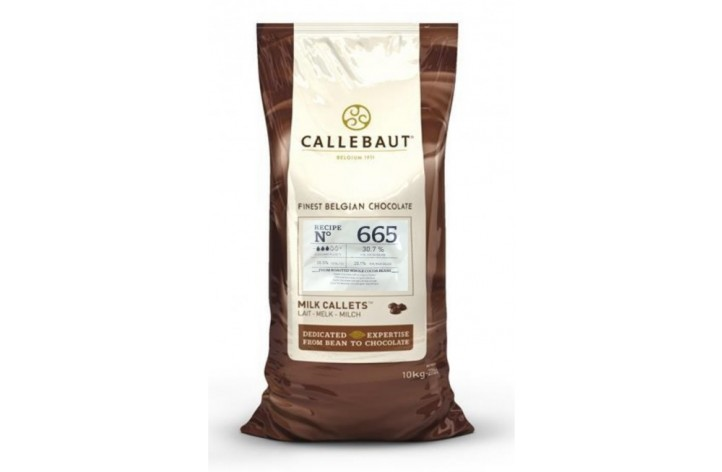 Barry Callebaut (665) Milk Chocolate Callets 10kg