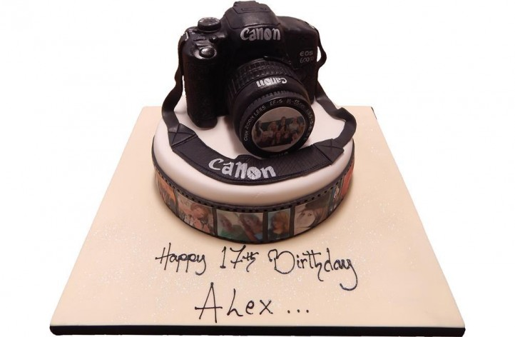 Camera & Photos Cake