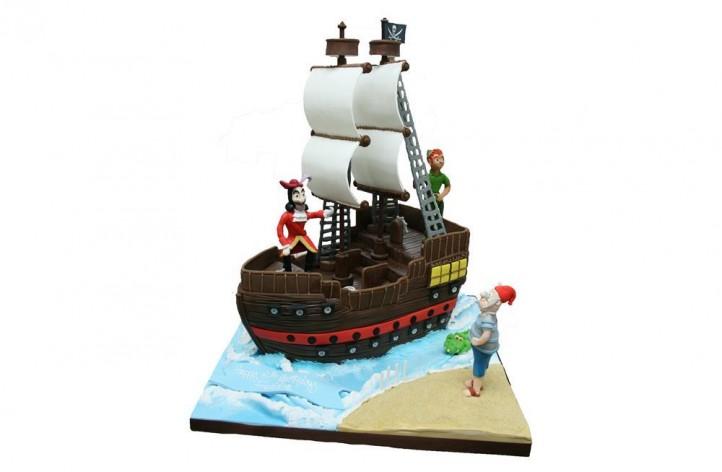 Captain Hook, Peter Pan & Smee
