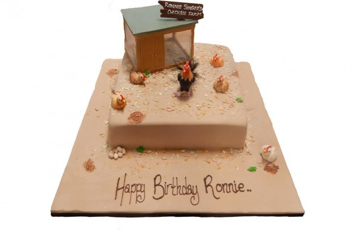 Chicken Farm Cake