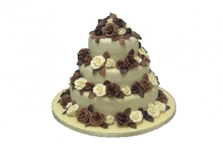 slatterys wedding cakes chocolate roses 20193