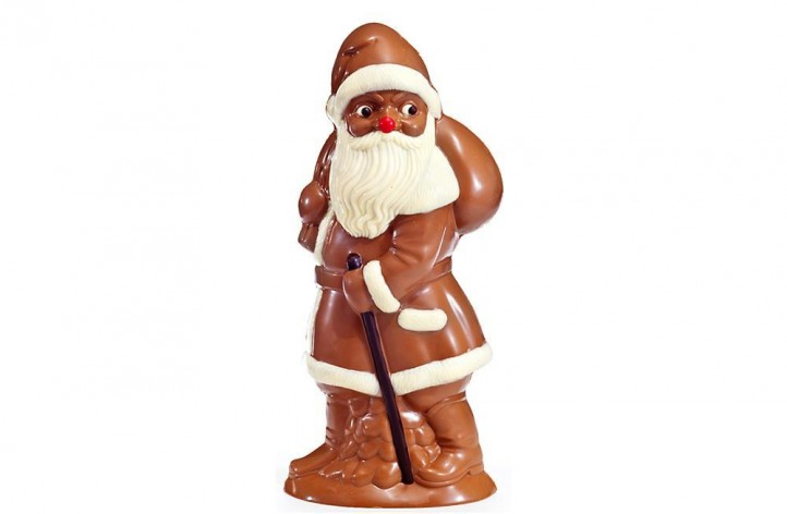 Medium Size Chocolate Father Christmas