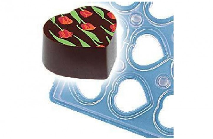 Chocolate Heart Magnetic Mould