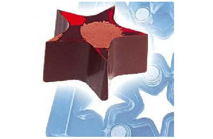 Chocolate Star Magnetic Mould