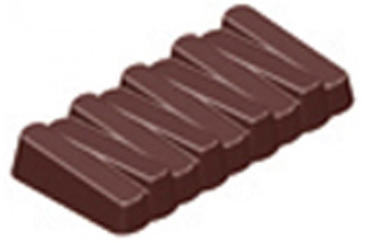 Chocolate Zig-Zag Bar Hard Plastic Mould