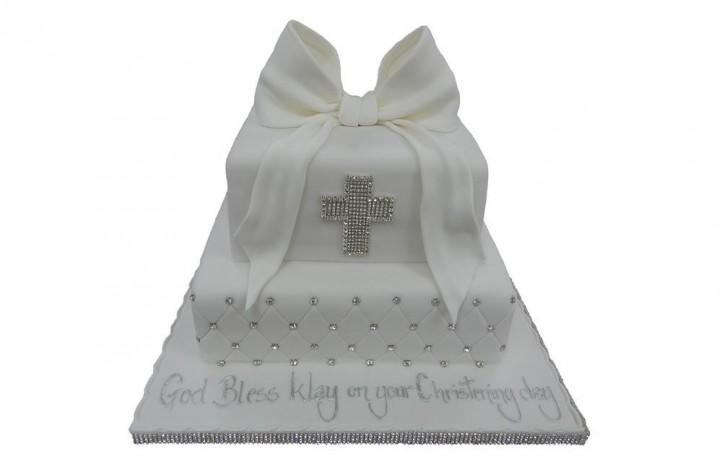 Christening Bling Cake