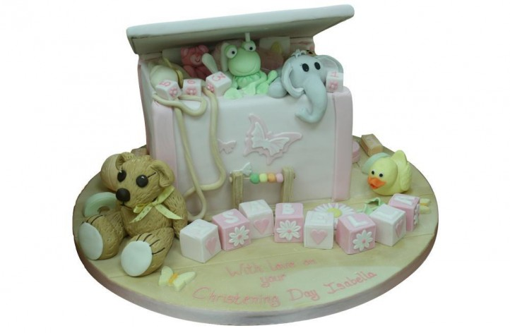 Christening Toy Box