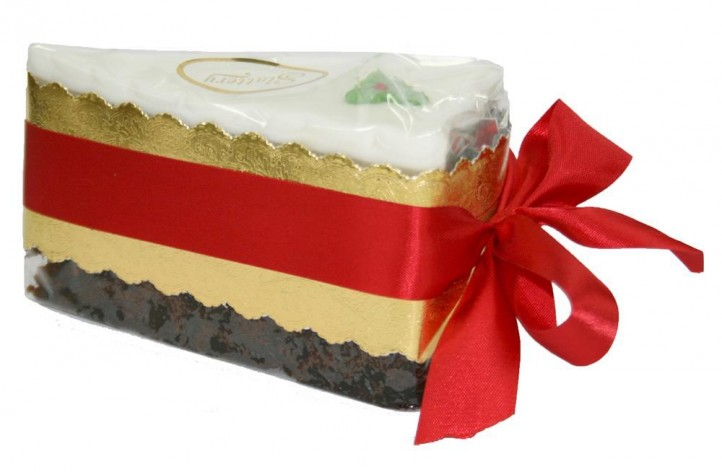 Christmas Cake Wedge