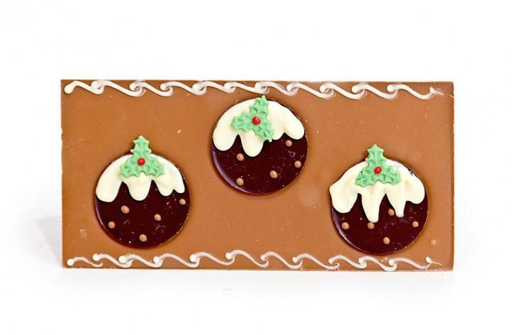 Christmas Pudding Large Chocolate Bar