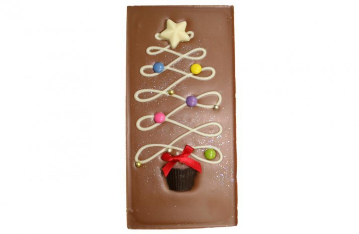Christmas Tree Large Chocolate Bar