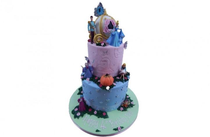 Cinderella Tiered Cake