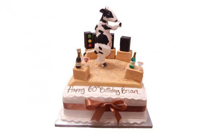 Dancing Cow Cake