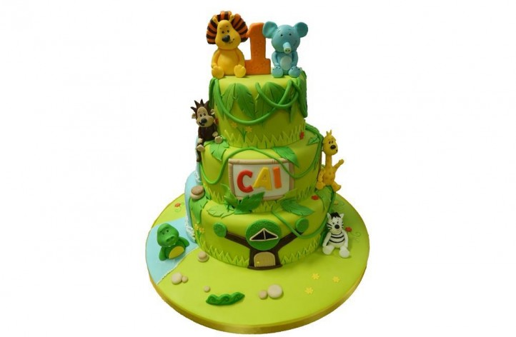 Raa Raa Tiered Cake