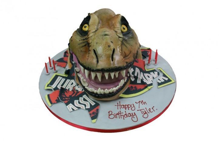 Dinosaur Head - Jurassic Park