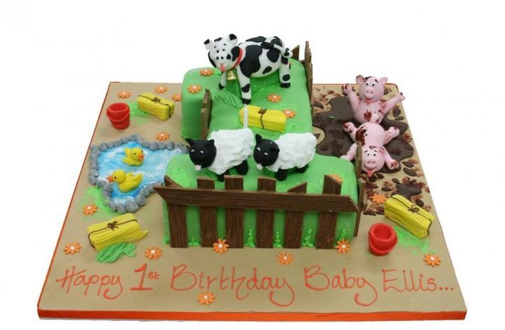 Farm Yard Scene