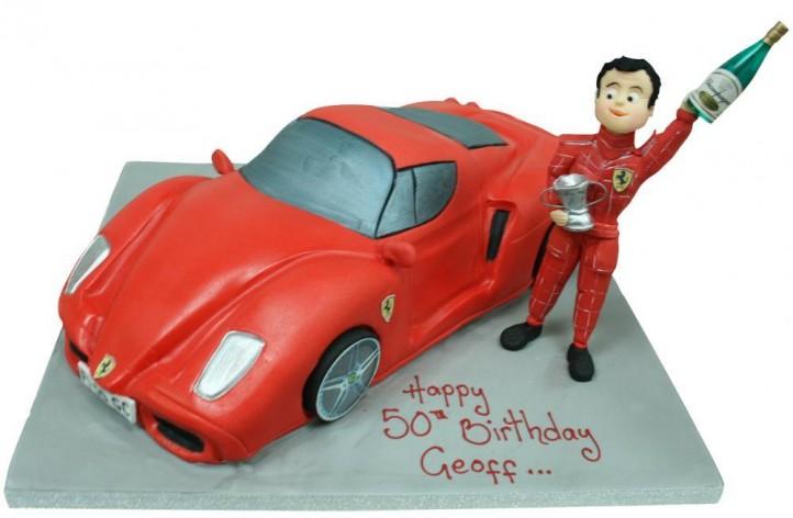 Ferrari & Racing Driver