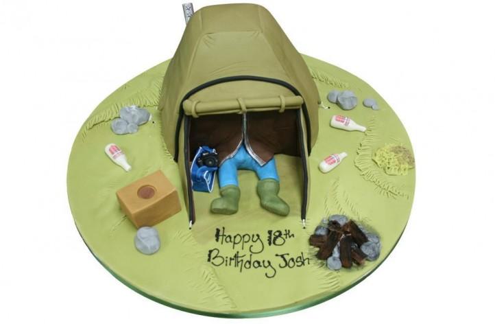 Figure in Tent