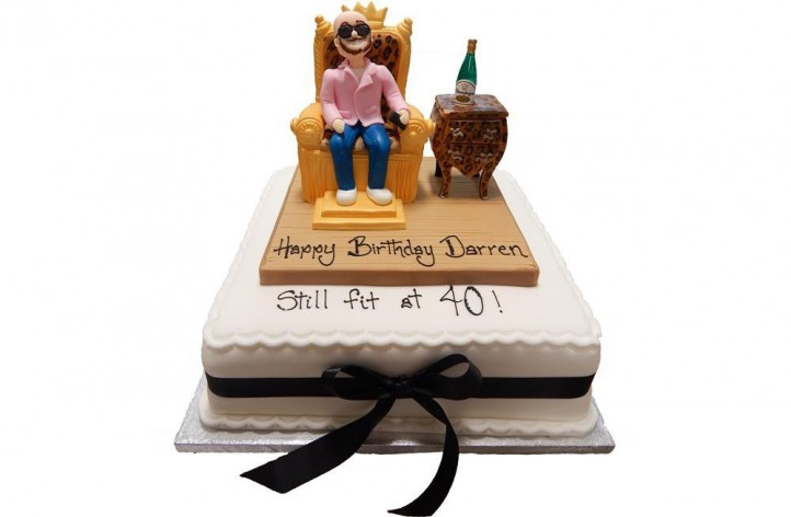 Figure on a Chair Cake