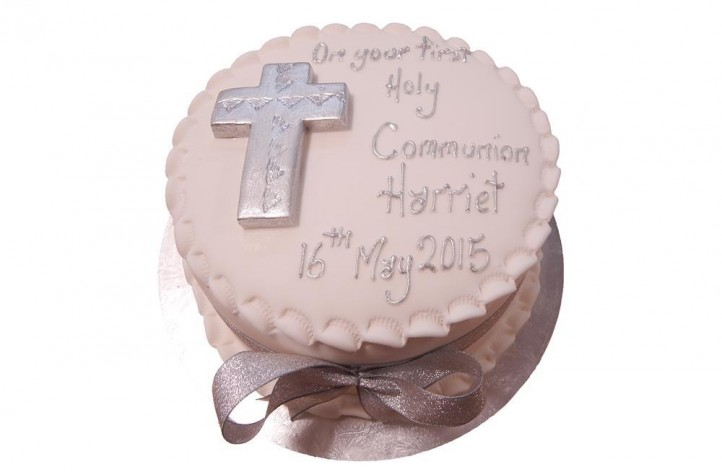 First Holy Communion Simple Cake