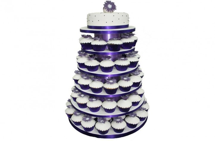 Flower Cupcakes & Cake