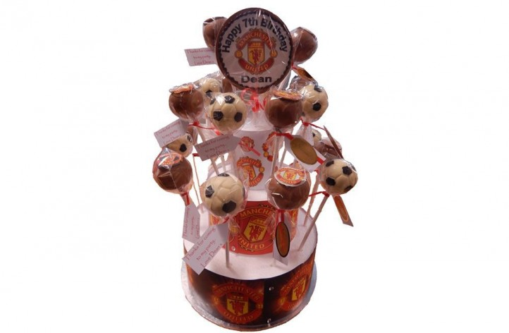Football Cakepops