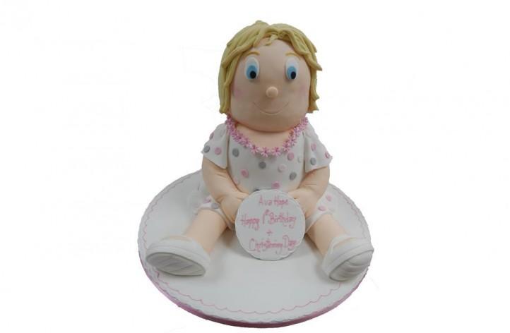 Full Figure Little Girl