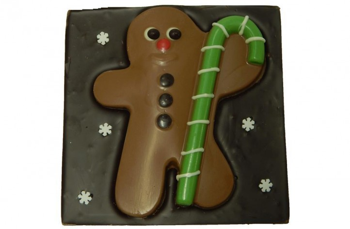 Gingerbread Man Square Bar