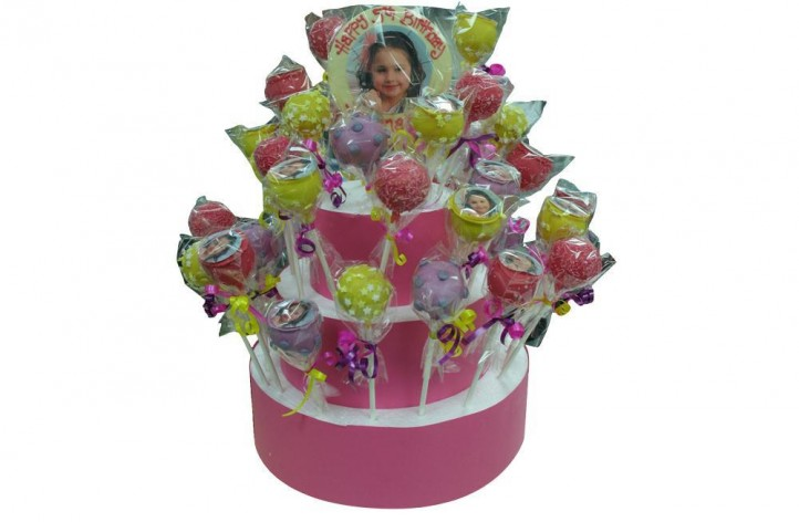Girly Pink - Cake Pop Stand
