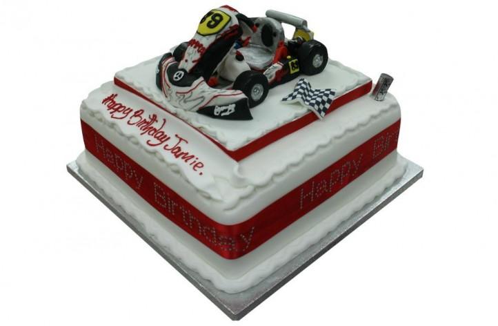 Go Kart on Cake
